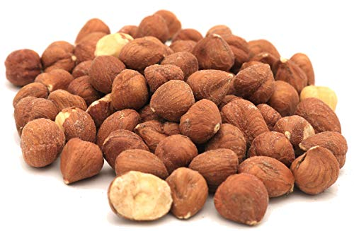 Oregon Farm Fresh Snacks Natural Hazelnuts Roasted - Lightly Salted and Dry Roasted Hazelnuts for a Sweet Buttery Flavor - Healthy Hazelnuts Perfect for Snacking - Oregon Hazelnuts (16oz)