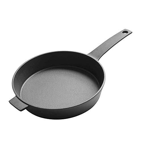 Stockpots, olla de sopa cazuela Pote de cocina, olla de sopa, cazuela de cazuela Caja de cacerola sin palmada de freying de cocina Pre-sazonada Sartén de hierro fundido, Hogar sin palanca de hierro de