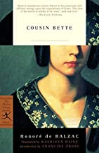 Cousin Bette (Modern Library Classics) by Honor? de Balzac (2002-02-12)