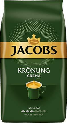 Jacobs Kaffee Krönung Crema, Ganze Bohne 4x 1000g (4000g) - Ausgewählte Kaffeesorten!