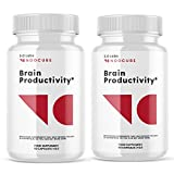 (2 Pack) Noocube Brain Productivity Supplement Pills (120 Capsules)