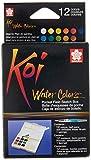 KOI Watercolors Field Box Set of 12 Colors