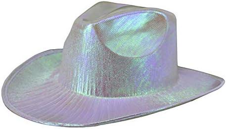 Arsimus Metallic Cowboy Hat Opal White product image