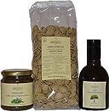 kit ricetta: orecchiette di grano arso con borragine e olio extra vergine di oliva coratina – spinelli cibus