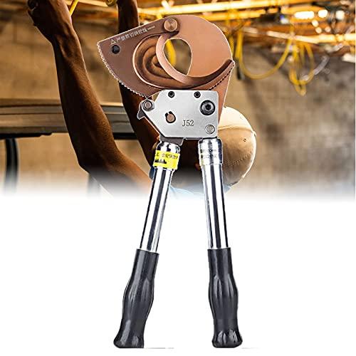 BIWAHumor - Cortador de alambre de trinquete y cortador de cables, muy sólido y facilita el corte de la manguera trenzada de acero inoxidable