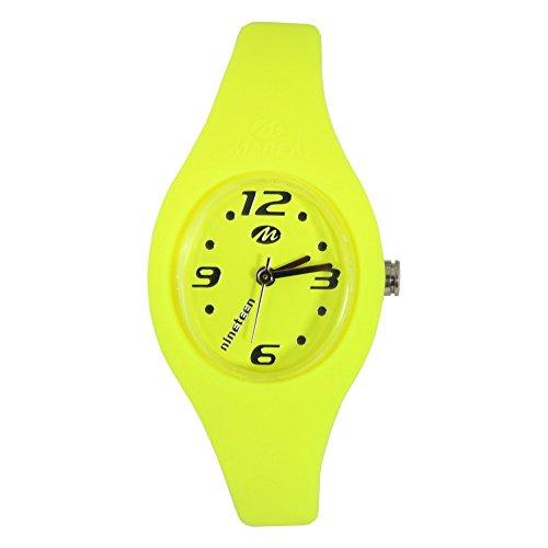 Marea orologio Nineteen, da polso,, con cinturino di silicone, 16 cm, di...