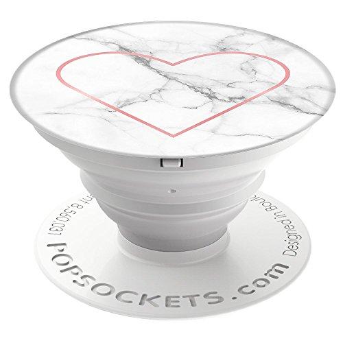 PopSockets PopGrip - [Nicht Austauschbarer] Ausziehbarer Sockel und Griff für Smartphones and Tablets - Stony Heart