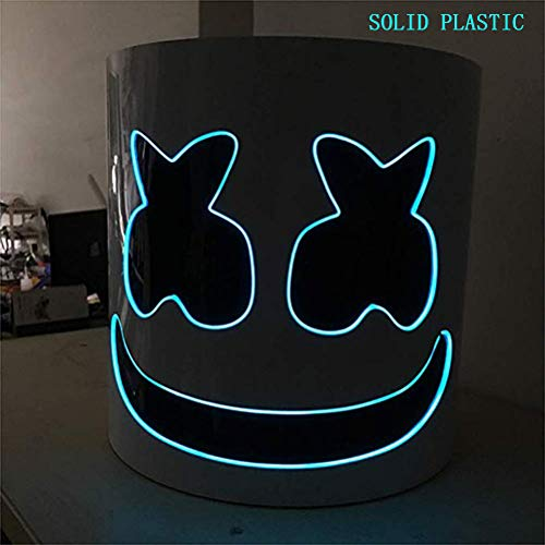 Unbekannt Marshmallow Helm Maske, DJ Music Festival Maske Helm Party Neuheit Kostüm...