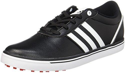 adidas adidas Damen Adicross V Golfschuhe, mehrfarbig (Schwarz/Weiß/Rot), 42 2/3