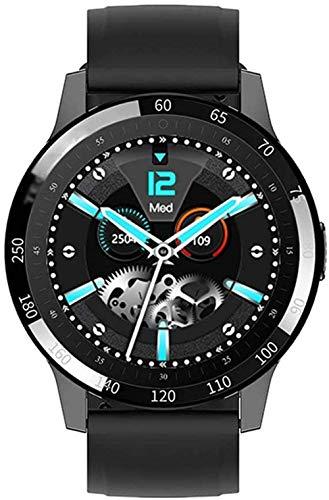 JSL Reloj inteligente de moda 1.28 con pantalla táctil completa Fitness Tracker ritmo cardíaco, presión arterial, reloj inteligente deportivo