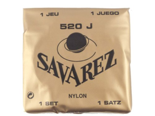 Savarez 520J Gitarrensaiten Set, Very High Tension, gelb