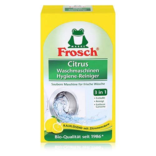Frosch Citrus Waschmaschinen Hygiene-Reiniger, Maschinenreiniger für eine hygienische Waschmaschine, 1er Pack (1 x 250 g)