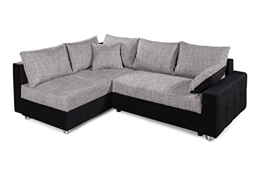 Ecksofa Couch –  günstig Collection AB Piacenza  Stoff Bild 5*