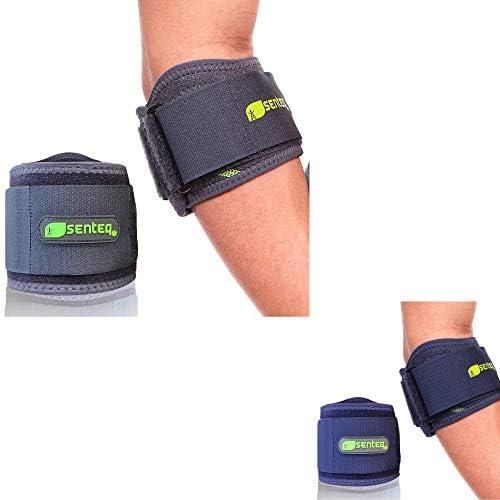 SENTEQ Tennis Elbow Brace Grey Blue product image