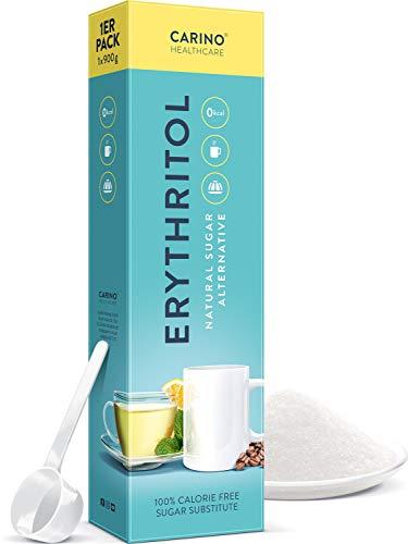 Erythritol polvo Sustituto del azúcar con cero calorías - 900g