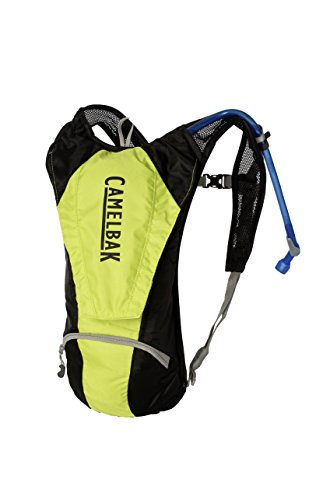 CAMELBAK Classic Hydration Pack Trinkrucksack, 85 oz (Lime Punch/Black)