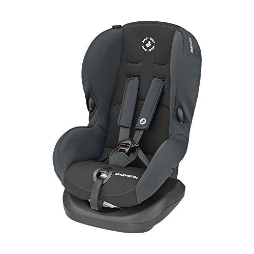 Maxi-Cosi Priori SPS + Kindersitz mit optimalen Seitenaufprallschutz und 4 Sitz- und Ruhepositionen, Gruppe 1 (9-18 kg), nutzbar ab 9 Monate bis 4 Jahre, Basic Grey (grau)