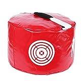 TuhooMall Golf Impact Power Smash Bag Hitting Bag Swing Training Aids Waterproof Durable (Red)