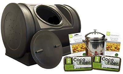 Good Ideas EZCJR-STA Compost Wizard Starter Kit