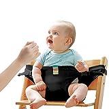Lychee Trona Portatil de Viaje para Bebe Tronas para Sillas Ideal para comer fuera/Viajes/Inicio/Restaurantes/Compras (Regro)