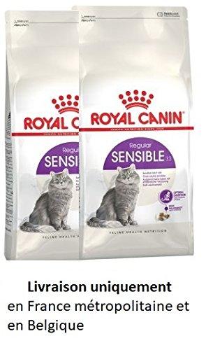 Royal Canin Katzenfutter Sensible 33(20kg)–2x Körper