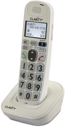 CLARITY 52704 000 Spare Handset for D704 Series CLARITY D704HS product image