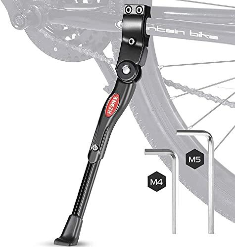 HZONE Fahrradständer,22-28 Zoll Faltbarer Einstellbarer Universal Ständer,Ständer mit Anti-Rutsch Gummifuß Aluminiunlegierung,für Mountainbike,Rennrad,Fahrräder und Klapprad,höhenverstellbar