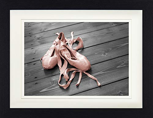 1art1 Ballett - Nach Dem Tanz Gerahmtes Bild Mit Edlem Passepartout   Wand-Bilder   Kunstdruck Poster Im Bilderrahmen 40 x 30 cm