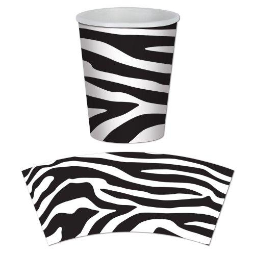 Beistle Tasse mit Zebramuster
