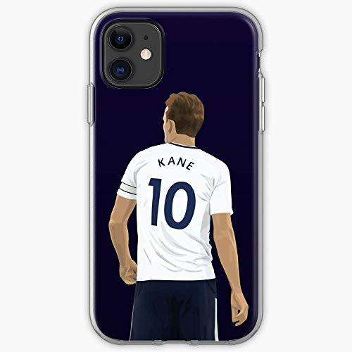 Compatibile con iPhone 12/11 Pro Max 12 mini SE X/XS Max XR 8 7 6 6s Plus Custodie Premier Sports Spurs Kane Harry Football League Soccer Footy Thfc Custodie per Telefoni Cover