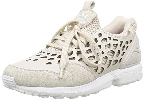 adidas ZX Flux Lace, Scarpe Basse da Donna, Grigio (Gris Pearl Grey Pearl Grey Ftwr White), 37 1/3 EU