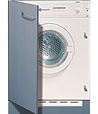 White Knight c43aw Integrated Front Load 6 kg C White – Tumble Dryer (Built-in, Front Loading, Evacuation, White, Buttons, Rotary, Right)