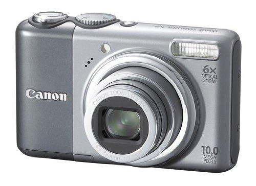 Canon PowerShot A2000 IS Digitalkamera (10 Megapixel, 6-fach opt. Zoom, 7,6 cm (3 Zoll) Display, Bildstabilisator)
