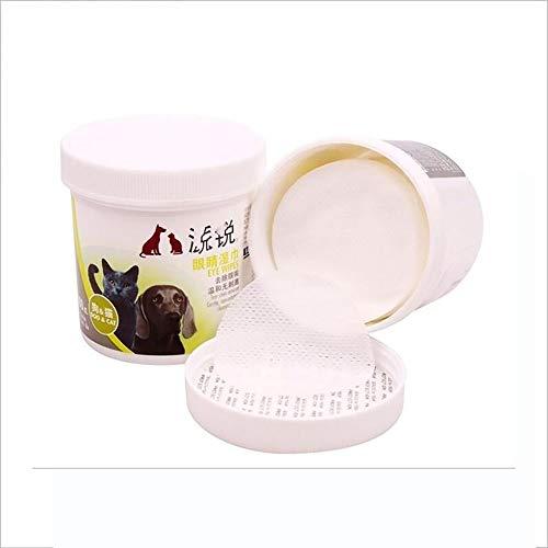 Yanmeng Limpieza de Toallas de Papel 100 unids/Conjunto Ojo de Mascota toallitas húmedas Gato Perro desgarre el removedor de Toalla de Limpieza sin intrigidez no Intrigante Aseo