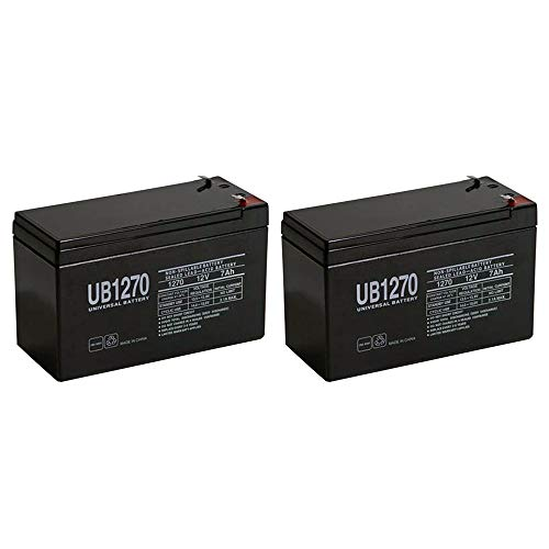 12V 7AH SLA Battery Replaces GP1272 Np7-12 BP7-12 NPW36-12 PS-1270 UB1280-2 Pack