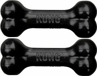Kong Dog Goodie Bone Extreme (Large Pack of 2, Black)