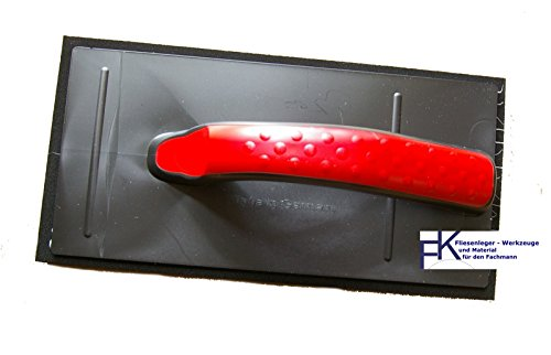 1 Stück Fugscheibe Fugbrett 28 * 14 cm Fliesen Fugen schwarz weich