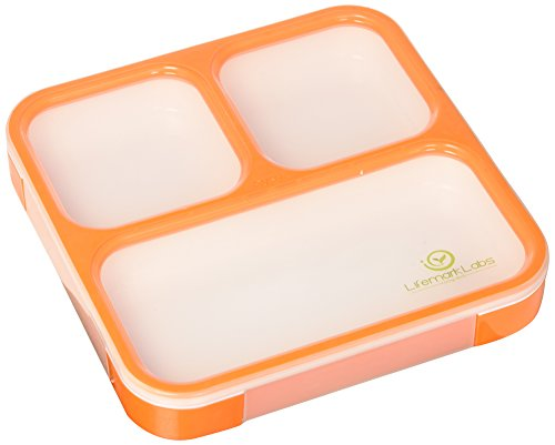 Bento Lunch Box by lifemark Labs–Elegante leakproof–Kit con...