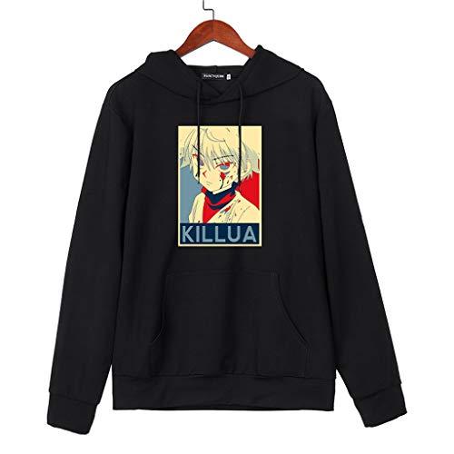 HxH Anime Hunter X Hunter Sudaderas con Capucha Killua Hoodie Streetswear Sudadera Tops