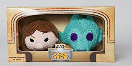 2016 SDCC San Diego Comic Con Exclusive Limited Edition Star Wars Han Solo Greedo Tsum Tsum Boxed Set
