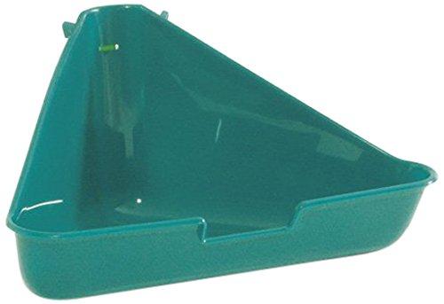 Beeztees Toilette d'angle pour Rongeur Bleu