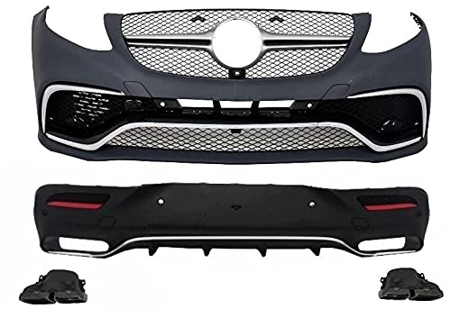 KITT CBMBGLEC292CCB Kit complet de carrosserie avec pare-chocs avant/arrière et embouts silencieux noirs