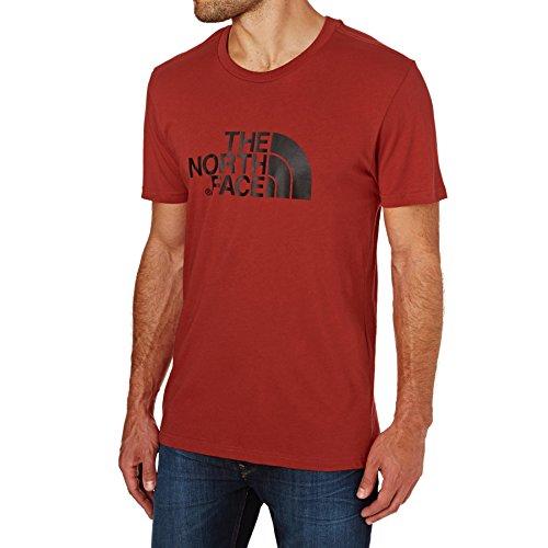 The North Face S/S Easy H Camiseta de Manga Corta, Hombre, Rojo (Cardinal Red), XS