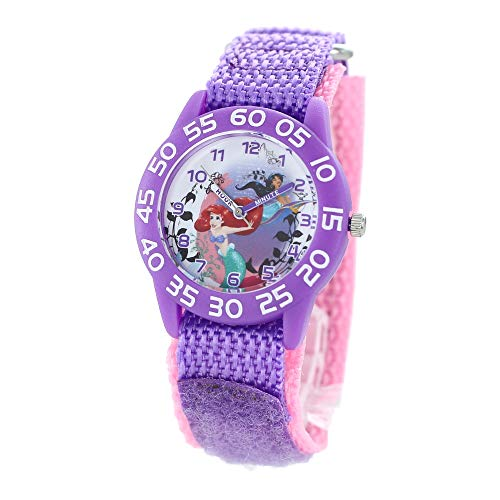 [ディズニー]Disney キッズウォッチ 女の子 ディズニー プリンセス マジックテープベルト パープル 時計 WDS000170 腕時計 [並行輸入品]