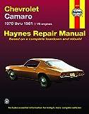 70 camaro book - Chevrolet Camaro (70-81) Haynes Repair Manual