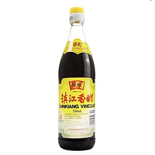 Vinaigre de riz noir Chinkiang 550ml