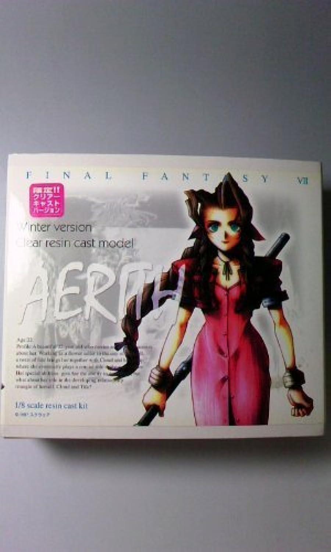 1 8 résine figurine en version transparente limitée Aeris