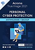 Acronis True Image 2021 – Ciberprotección personal | Copia de seguridad y antivirus integrados 250 GB |1 PC/Mac|Android/iOS | Advanced Edition -1 User 12 Meses| Código de activación enviado por email