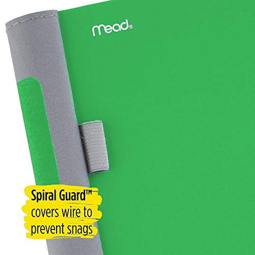 Five Star Advance Spiral Notebook, 1 Subject, College Ruled Paper, 100 Sheets, 11 x 8-1/2 inches, Green (72884) Photo #2