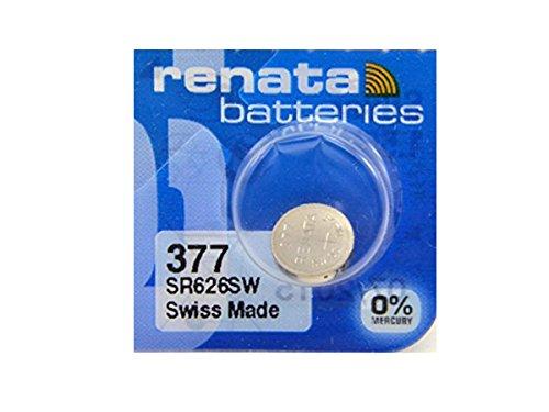 Renata # 377Silberoxid Batterie–5Stück